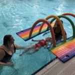 Ouder en Kind zwemmen 2 - 3 jaar bij Zwembad de Peppel
