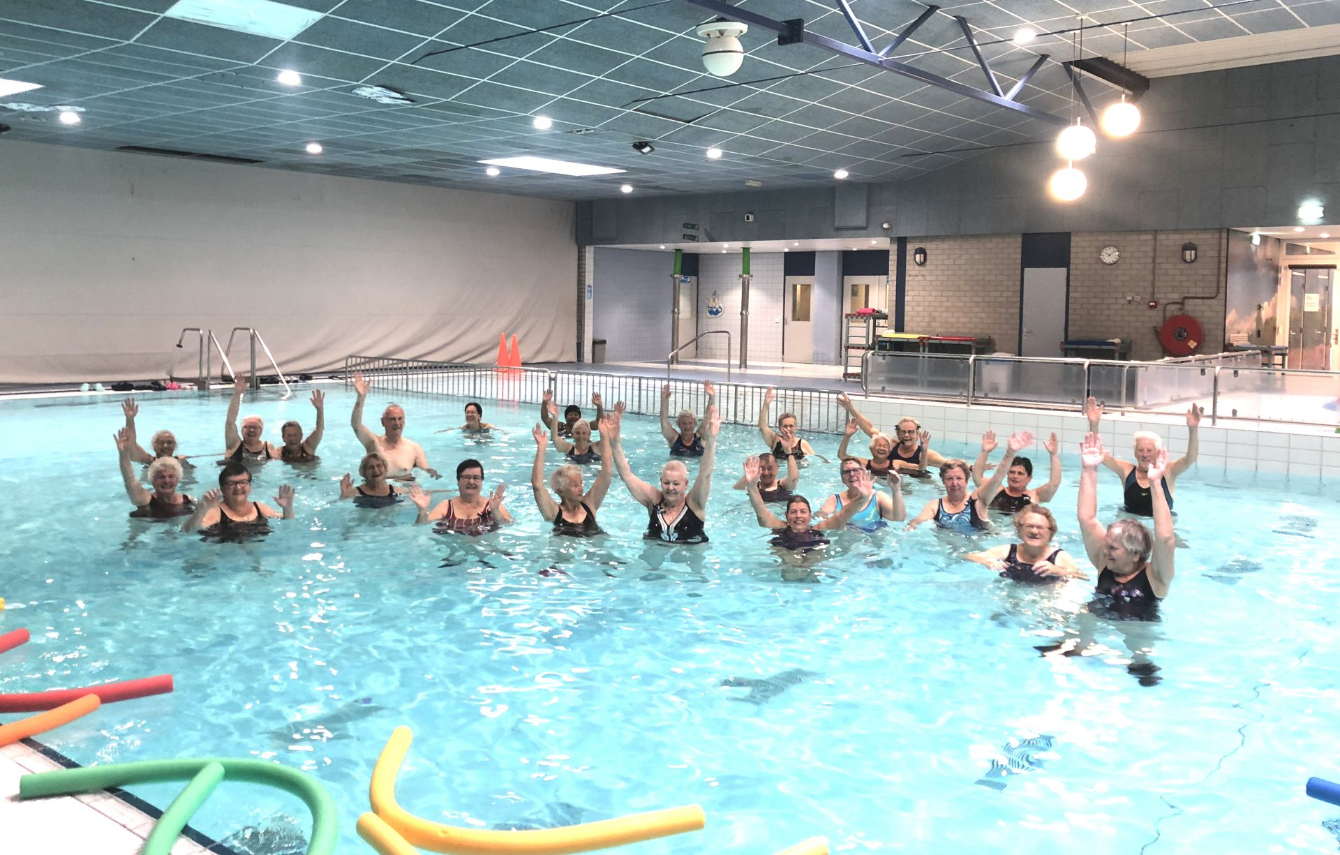 Meer Bewegen Voor Ouderen bij Zwembad de Peppel